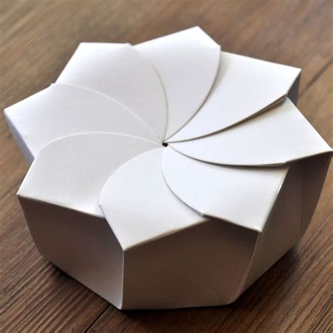 How To Make A Package Out Of Paper - 25 best ideas about origami boxes on diy box