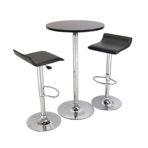 Air In Stool by Adjustable Air Lift Bar Stools In Black Set Of 2 93329
