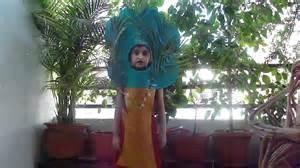 Lavannya dressed as tree on evs day youtube