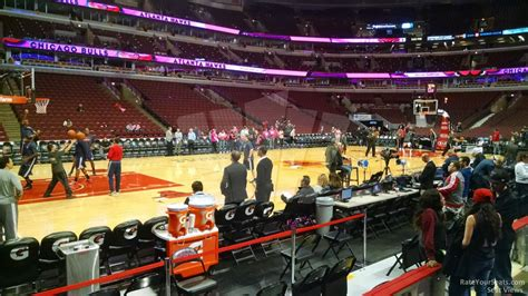 section 102 united center chicago bulls united center section 102 rateyourseats com