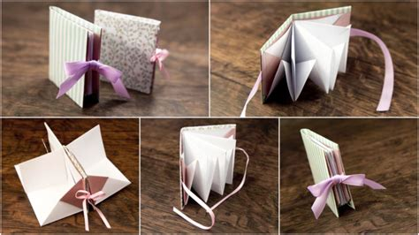 Origami Book Tutorial - origami popup book tutorial paper kawaii