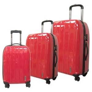 California Luggage Costco Ca Save 50 On Shell 3 Luggage Set