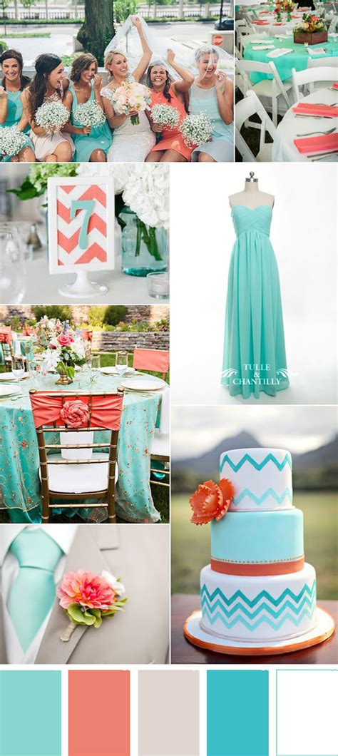 Wedding Anniversary Destination Ideas by Five Refreshing Wedding Color Ideas That Brides Will
