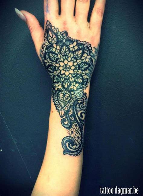 lace hand tattoo 46 feminine lace designs