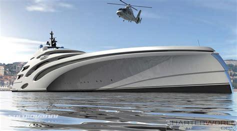 trimaran luxury yacht 102m trimaran concept echo yachts yacht charter