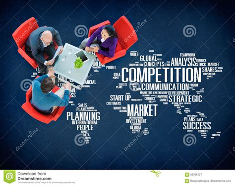 International Mba Competitions by Global Competition Royalty Free Stock Image