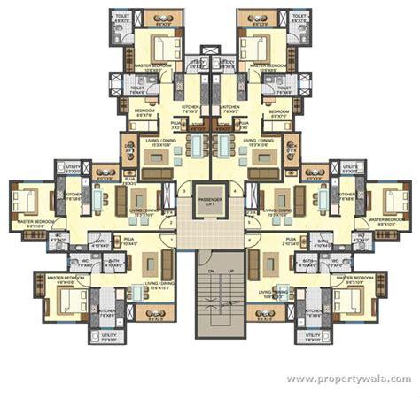 Mall Floor Plan Designs lodha casa rio gold dombivli thane residential
