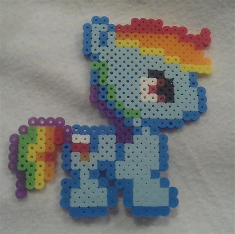 melty bead designs rainbow dash melty bead designs