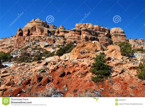 rugged scenery rugged scenery of western colorado royalty free stock photography image 25354677
