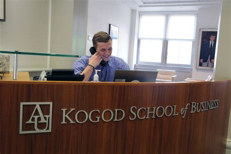 Kogod School Of Business Mba by Visit Kogod School Of Business On Cus American