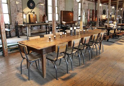 Harvest Kitchen Table Rustic Wooden Pine Dining Harvest Farm Conference Kitchen Table At 1stdibs