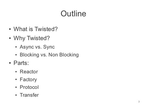 tutorial python twisted twisted