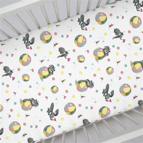disney baby vintage dumbo crib sheet carousel designs