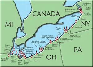 lake erie canada map 17 best ideas about lake erie on ohio state
