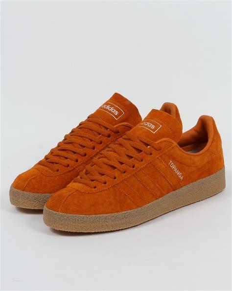 adidas topanga adidas topanga trainers orange ochre originals 80s