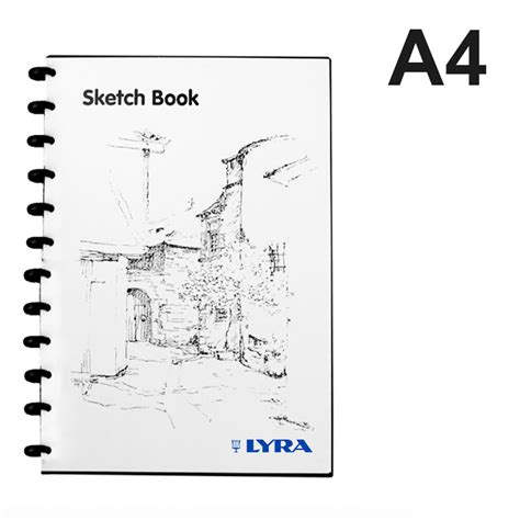 Lyra Sketch Book A4 Isi 30 Lix Supplies