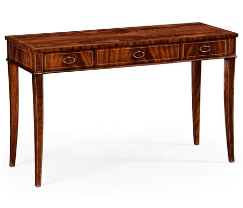 Narrow Desk mahogany narrow desk or side table