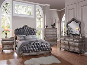 traditional bedroom sets traditional 5 piece granite top cal or estern king bed