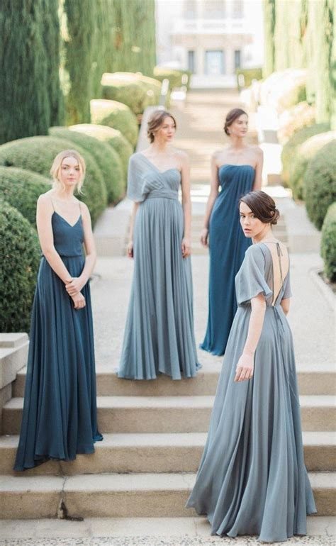 trending top  mismatched bridesmaid dresses inspiration