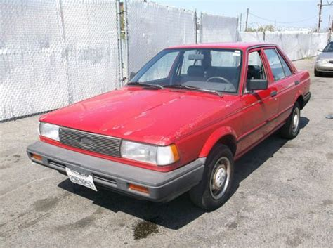 1989 nissan sentra 1989 nissan sentra for sale
