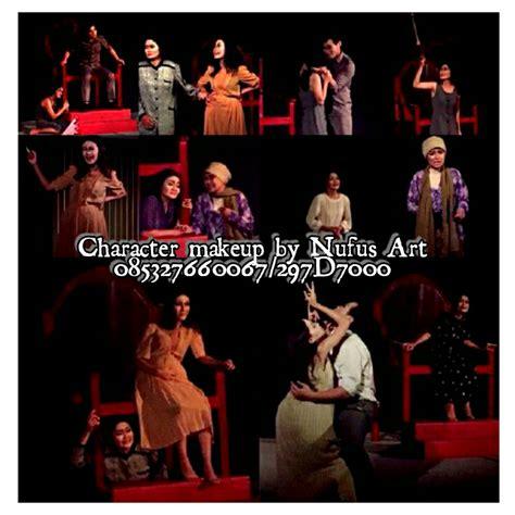 Spon Bedak Tabur Pink Fc fungsi tata rias dalam teater pementasan drama make up