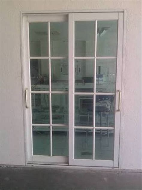 Hermoso  Puertas Corredizas De Madera Precios #2: Puertas-corredizas-blancas-reticuladas-149113.jpg