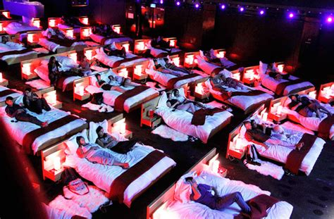 cinema with beds snuggle in at sydney s very first bed cinema sydney the urban list
