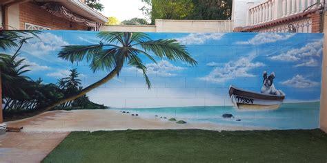 graffiti profesional graffitis en patios  piscinas