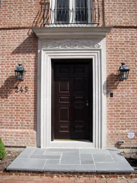 Exterior Door Surrounds Indiana Limestone Door Surround With Carved Lintel By Argyle Cut Inc Argylecutstone