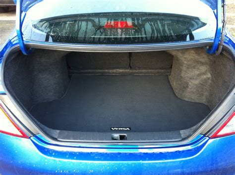 nissan tiida trunk space nissan versa cars images websites wiki