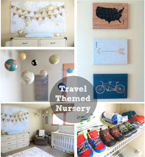 travel themed nursery decor our travel and adventure themed nursery glitter and dust