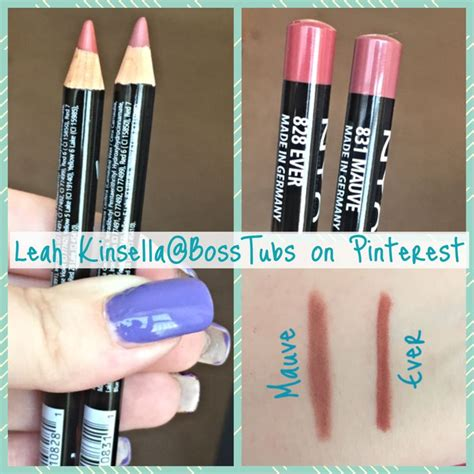 Ecer Lipstick Nyx two well known dupes for mac soar whirl lipliners nyx