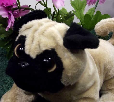 webkinz pug ganz webkinz realistic plush pug lifelike stuffed animal puppy nwt l3b25
