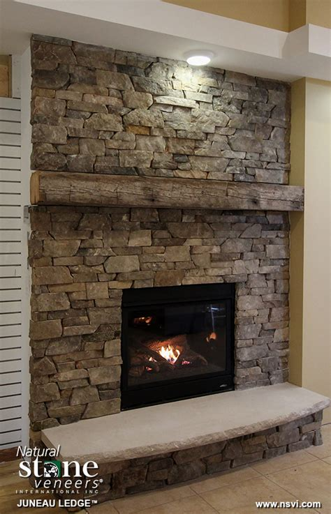 chiminea virginia beach juneau ledge fireplace natural stone veneers inc