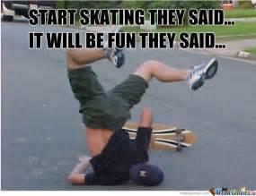 Skate Memes - challenge excepted funny skateboarding meme picture