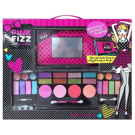 Makeup Makeover Palette by Pink Fizz Makeup Deluxe Palette Mirror Eyeshadow Lip