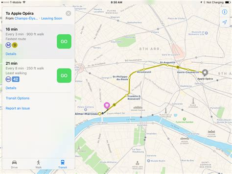 maps n directions apple maps gains transit directions for