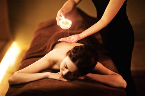 candela per massaggi candle principe relais