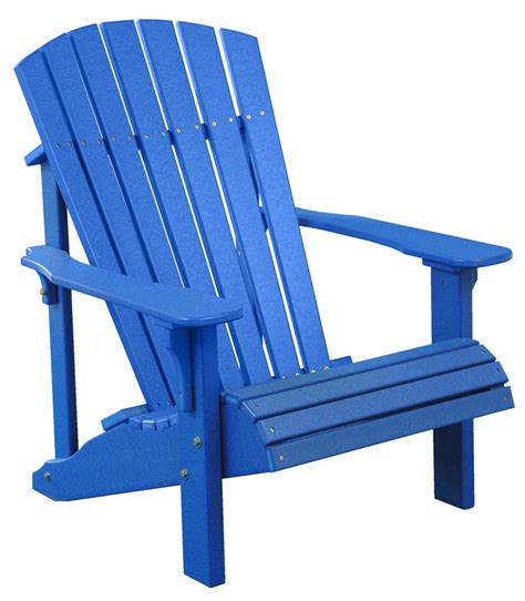 Adirondack Chair by Luxcraft Poly Deluxe Adirondack Chair Swingsets Luxcraft