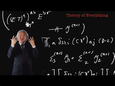 mathematical pattern the theory of everything michio kaku theory of everything youtube
