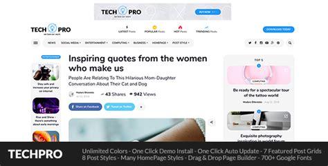 layout bandara pattimura techpro wordpress theme for magazine news blog