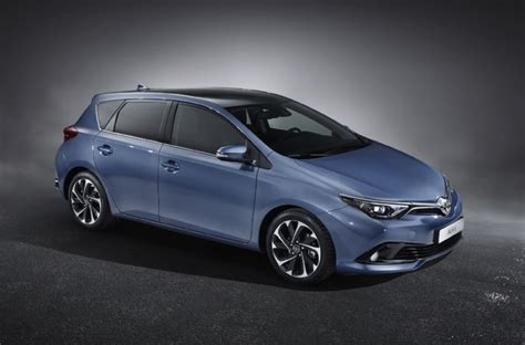 Hatch Toyota 2016 Toyota Corolla Hatch Revealed With Updated Design