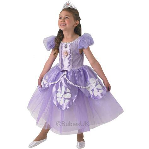 Disney Premium Sofia Kids Costume Princess Costume From Sofia The Printable
