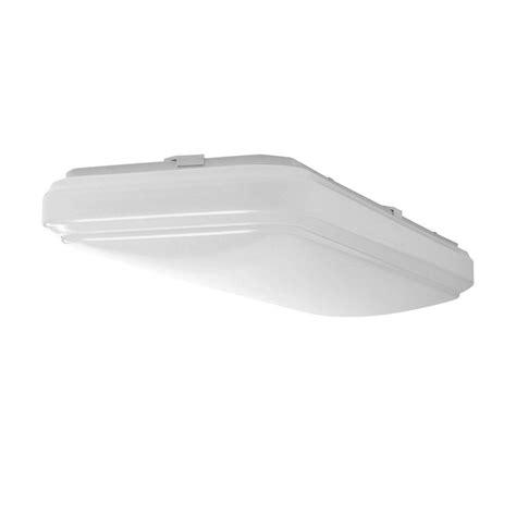 white rectangular ceiling light led flush mount fixture