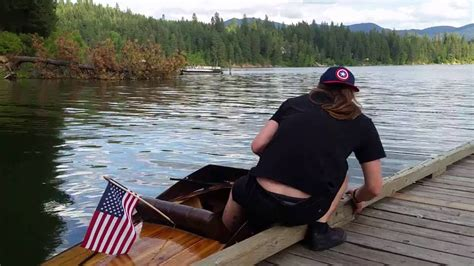 small boat r plywood boat small electric inboard ride youtube