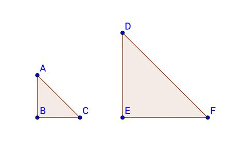Find Similar How To Find If Right Triangles Are Similar Basic Geometry