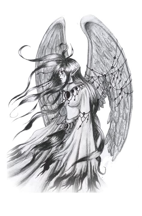 fallen angel tattoo designs free the gallery for gt warrior sketches