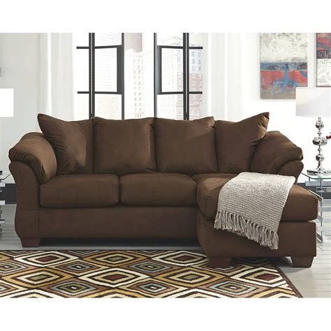 signature design by ashley darcy sofa chaise darcy caf 233 sofa chaise 7500418 signature design by ashley