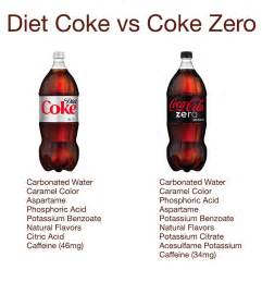 is coke zero better than regular coke what s the difference between diet coke and coke zero