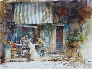 water color artists chicago watercolor artist ng woon lam nws